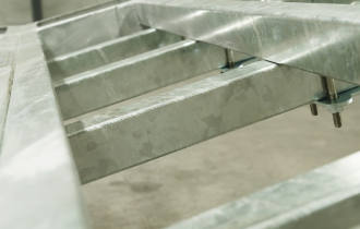 Hot Dipped Galvanized Finish (Extra Option-Not Standard)